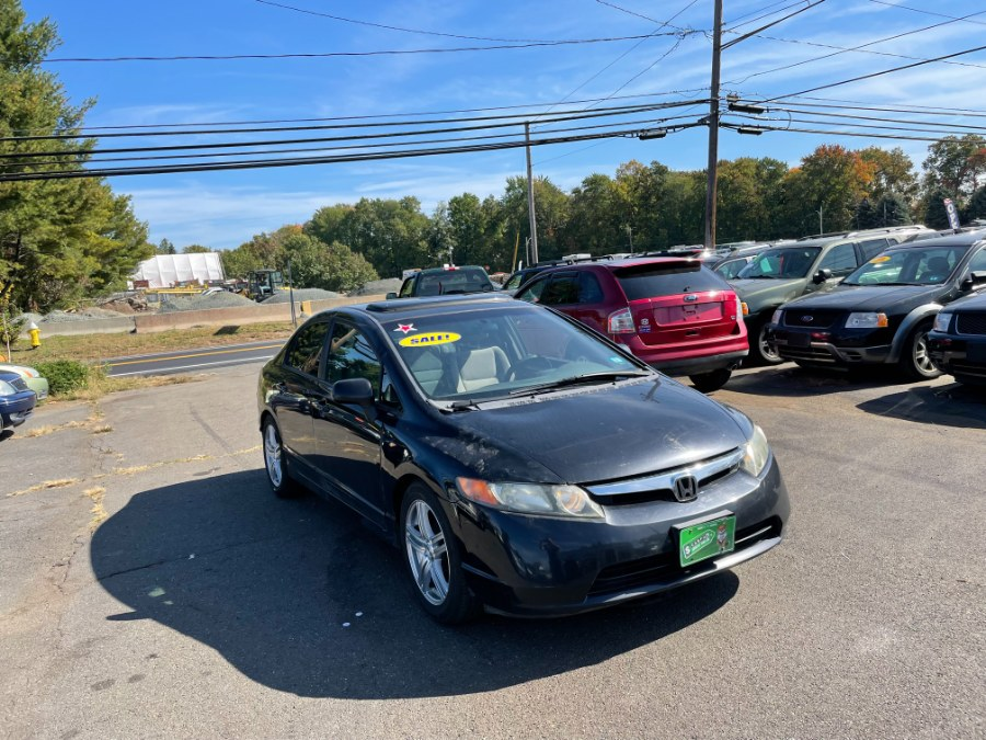 Used Honda Civic Sdn 4dr AT EX 2007   CT Car Co LLC. East Windsor, Connecticut