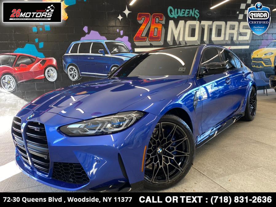 Used BMW M3 Competition Sedan 2021 | 26 Motors Queens. Woodside, New York