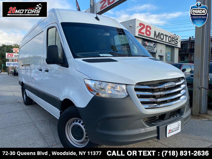 "Used Freightliner Sprinter Cargo Van 2500 High Roof V6 170"" RWD 2019   26 Motors Queens. Woodside, New York"