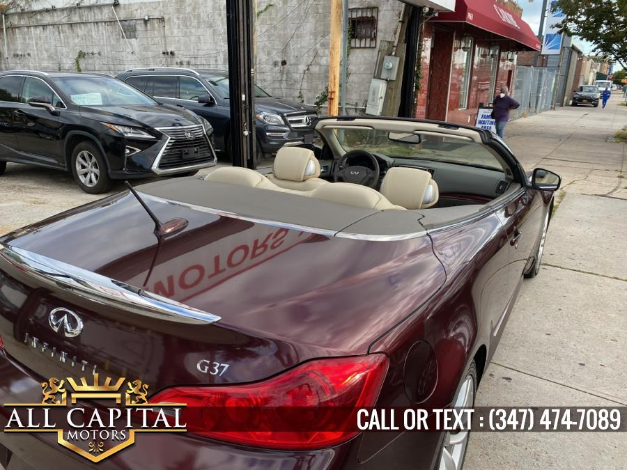 Used Infiniti G37 Convertible 2dr Base 2010   All Capital Motors. Brooklyn, New York