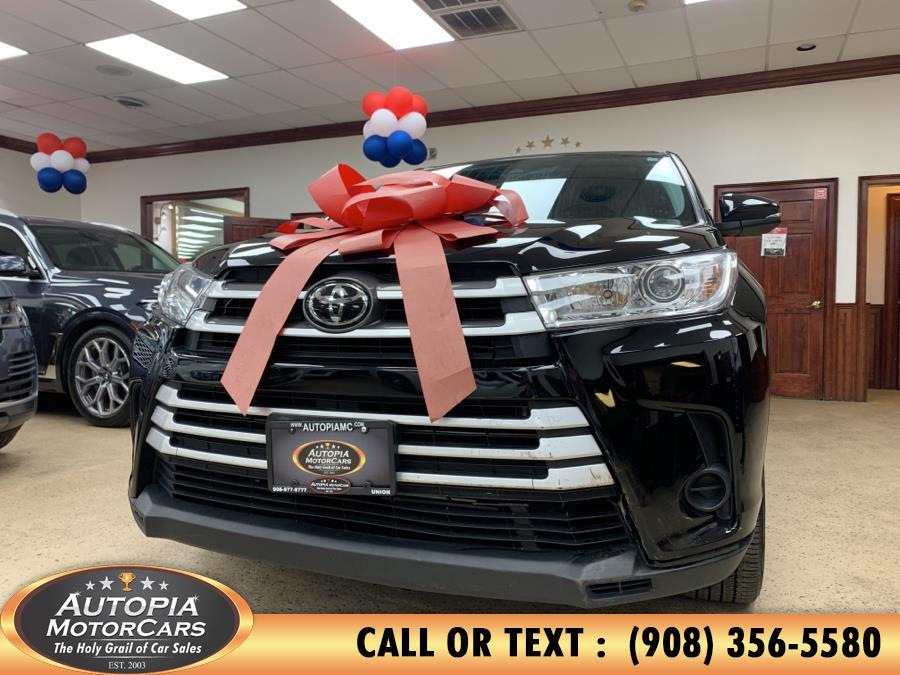 Used Toyota Highlander LE V6 AWD (Natl) 2019 | Autopia Motorcars Inc. Union, New Jersey