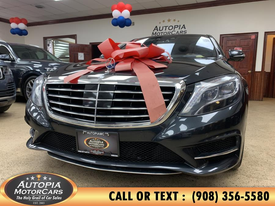 Used Mercedes-Benz S-Class 4dr Sdn S550 4MATIC 2014 | Autopia Motorcars Inc. Union, New Jersey