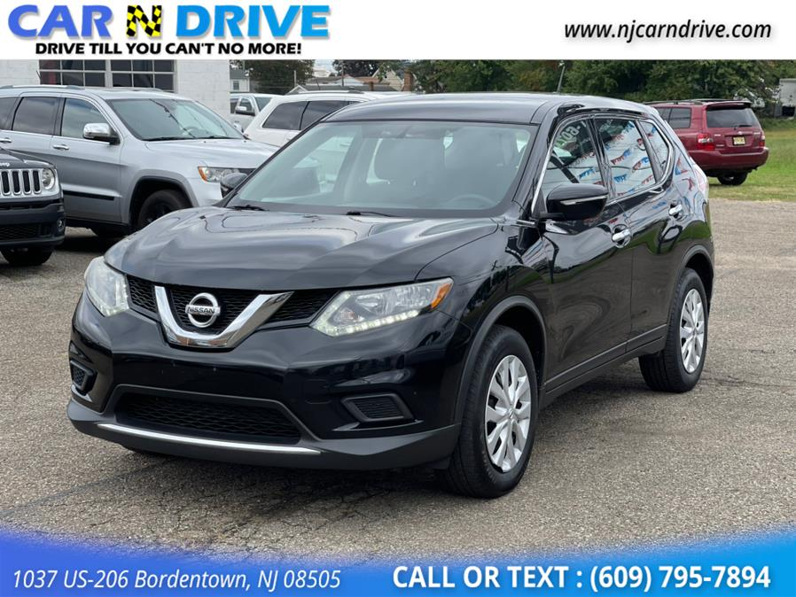 Used Nissan Rogue S AWD 2015   Car N Drive. Bordentown, New Jersey