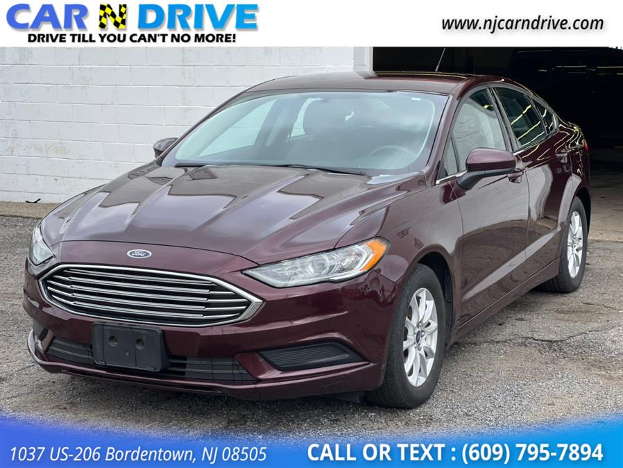 Used Ford Fusion S 2017   Car N Drive. Bordentown, New Jersey