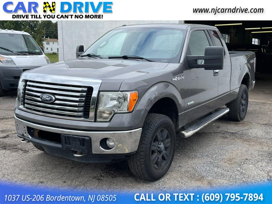 Used Ford F-150 XLT SuperCab 6.5-ft. Bed 4WD 2012   Car N Drive. Bordentown, New Jersey