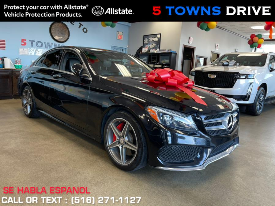Used Mercedes-Benz C-Class 4dr Sdn C 400 4MATIC 2015 | 5 Towns Drive. Inwood, New York