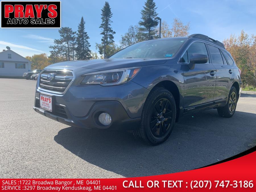 Used Subaru Outback 2.5i Premium 2018 | Pray's Auto Sales . Bangor , Maine
