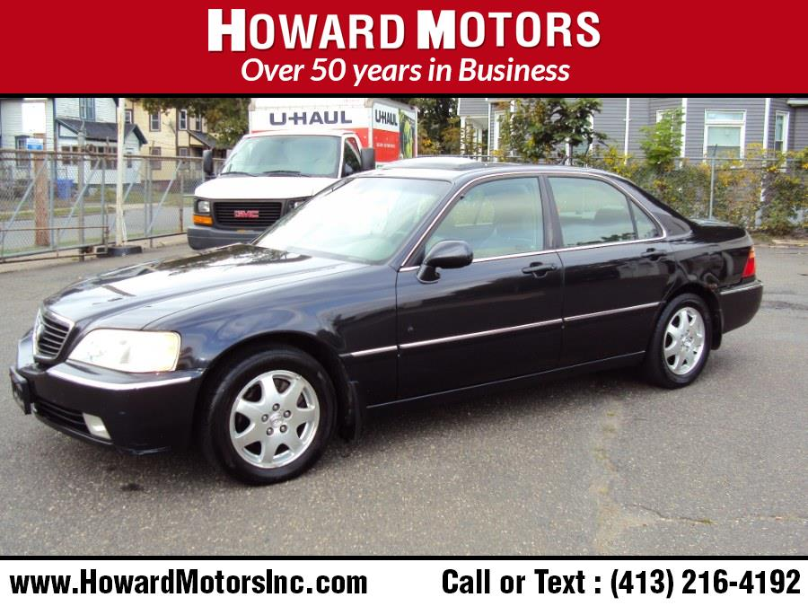 Used Acura RL 4dr Sdn w/Navigation System 2002   Howard Motors. Springfield, Massachusetts
