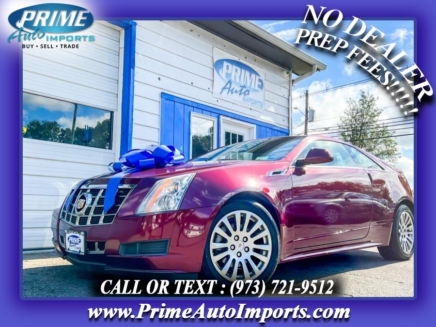 Used 2014 Cadillac CTS Coupe in Bloomingdale, New Jersey | Prime Auto Imports. Bloomingdale, New Jersey
