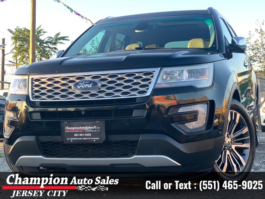 Used Ford Explorer 4WD 4dr Platinum 2016   Champion Auto Sales of JC. Jersey City, New Jersey
