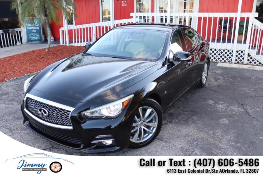 Used INFINITI Q50 4dr Sdn Premium RWD 2015 | Jimmy Motor Car Company Inc. Orlando, Florida