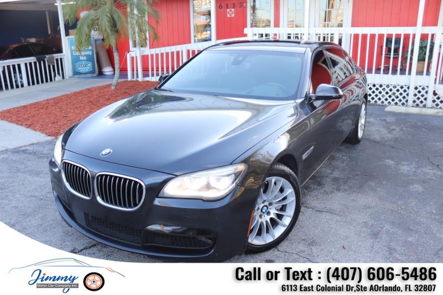 Used BMW 7 Series 4dr Sdn 750Li RWD 2015   Jimmy Motor Car Company Inc. Orlando, Florida