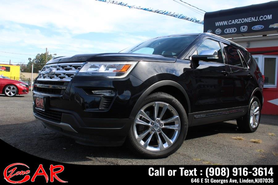 Used Ford Explorer XLT 4WD 2019 | Car Zone. Linden, New Jersey