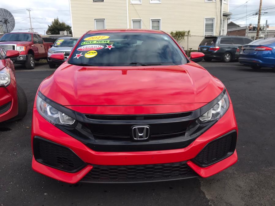 Used Honda Civic Hatchback LX CVT 2017   Affordable Motors Inc. Bridgeport, Connecticut