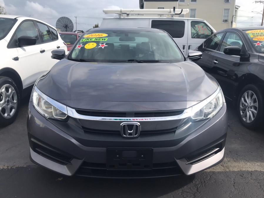 Used Honda Civic Sedan 4dr CVT EX 2016 | Affordable Motors Inc. Bridgeport, Connecticut