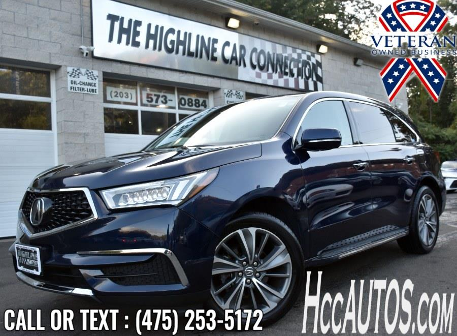 Used Acura MDX SH-AWD w/Technology Pkg 2017 | Highline Car Connection. Waterbury, Connecticut