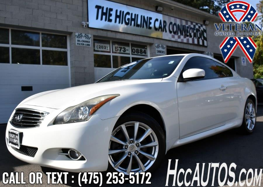 Used Infiniti G37 Coupe 2dr x AWD 2012   Highline Car Connection. Waterbury, Connecticut