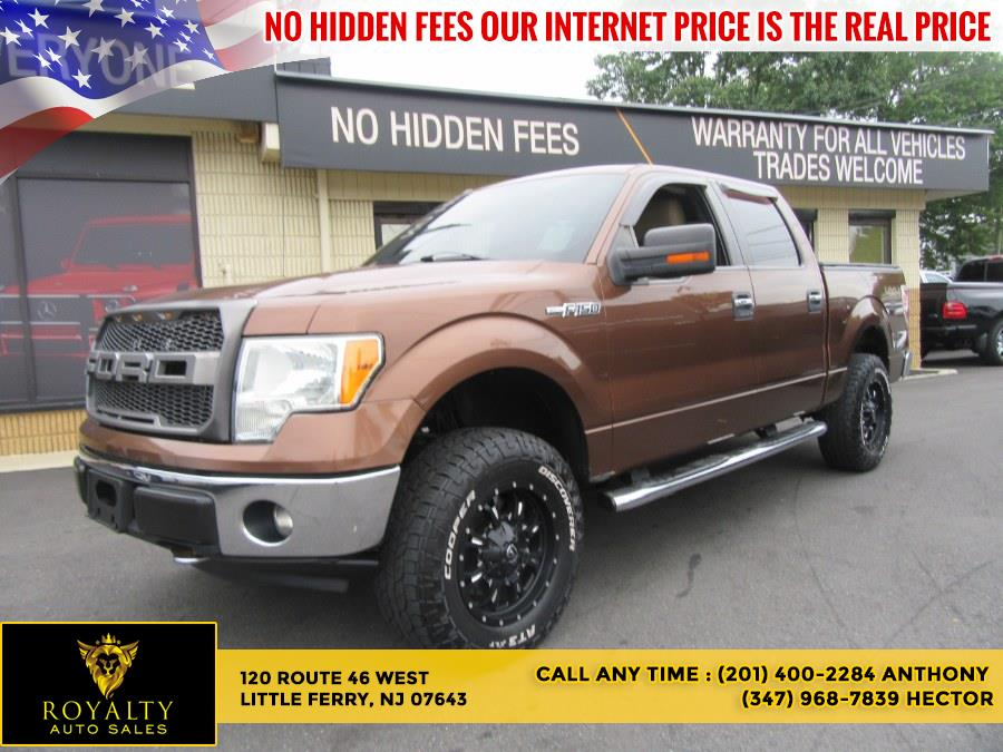 """Used Ford F-150 4WD SuperCrew 157"""" XLT 2012   Royalty Auto Sales. Little Ferry, New Jersey"""