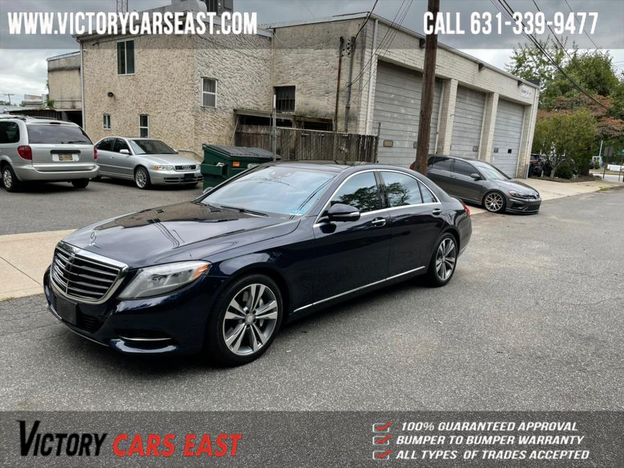 Used Mercedes-Benz S-Class 4dr Sdn S 550 4MATIC 2016   Victory Cars East LLC. Huntington, New York
