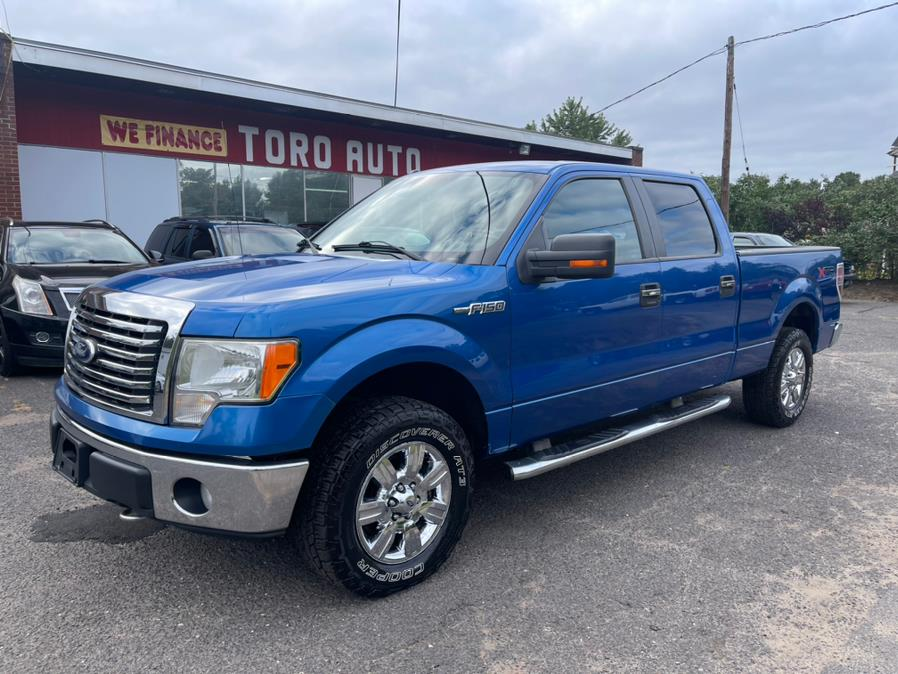 Used Ford F-150 XLT 4WD Super Crew 5.4 V8 2010   Toro Auto. East Windsor, Connecticut