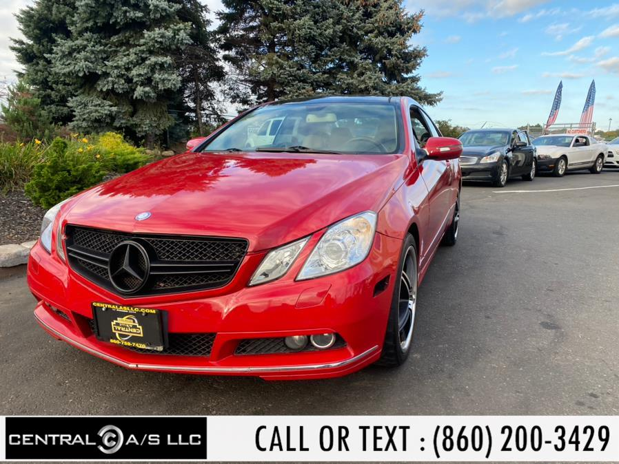 Used Mercedes-Benz E-Class 2dr Cpe E350 RWD 2010   Central A/S LLC. East Windsor, Connecticut