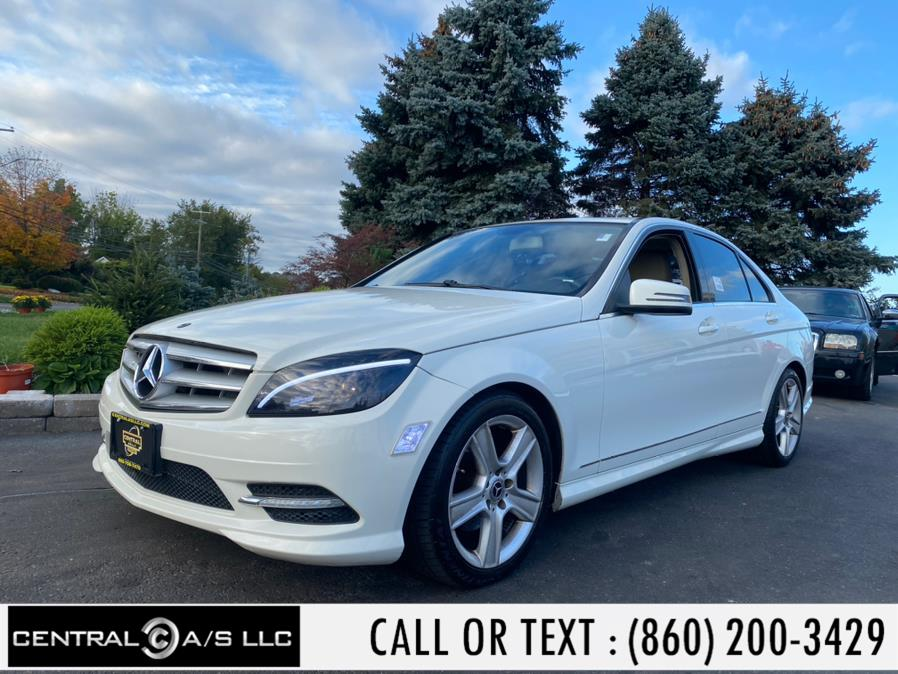 Used Mercedes-Benz C-Class 4dr Sdn C 300 Sport 4MATIC 2011   Central A/S LLC. East Windsor, Connecticut