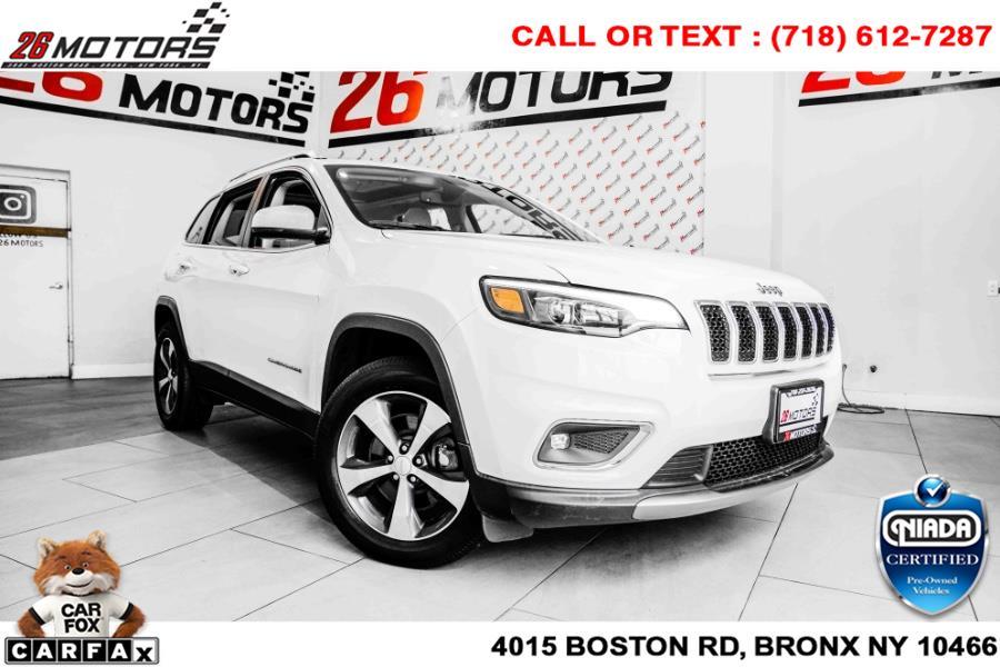 Used Jeep Cherokee Limited 4x4 2019   26 Motors Corp. Bronx, New York