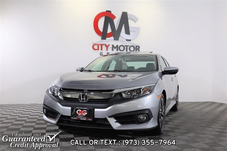 Used Honda Civic EX-L 2017 | City Motor Group Inc.. Haskell, New Jersey