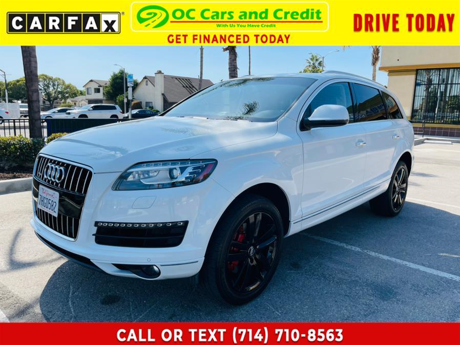 Used 2015 Audi Q7 in Garden Grove, California | OC Cars and Credit. Garden Grove, California
