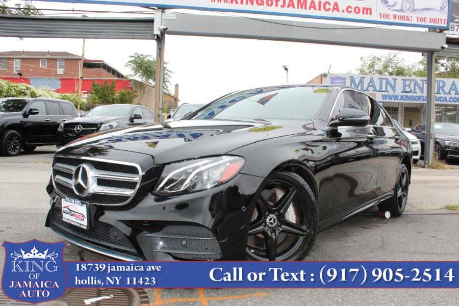 Used Mercedes-Benz E-Class E 300 4MATIC Sedan 2018 | King of Jamaica Auto Inc. Hollis, New York