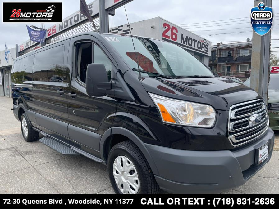 """Used Ford Transit Passenger Wagon T-350 148"""" Low Roof XL Sliding RH Dr 2018 