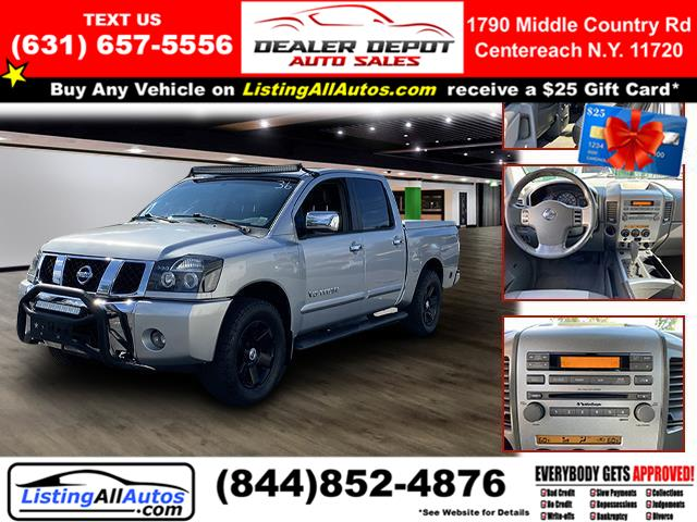 Used 2006 Nissan Titan in Patchogue, New York   www.ListingAllAutos.com. Patchogue, New York