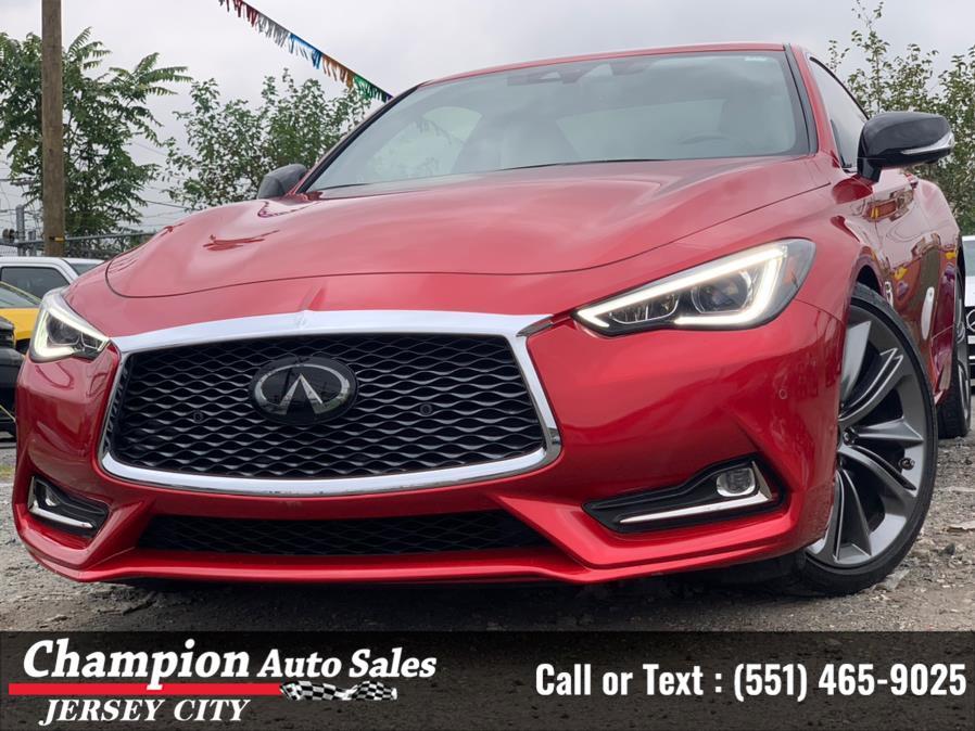 Used INFINITI Q60 RED SPORT 400 RWD 2020   Champion Auto Sales of JC. Jersey City, New Jersey