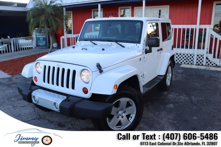 Used Jeep Wrangler 4WD 2dr Sahara 2011 | Jimmy Motor Car Company Inc. Orlando, Florida