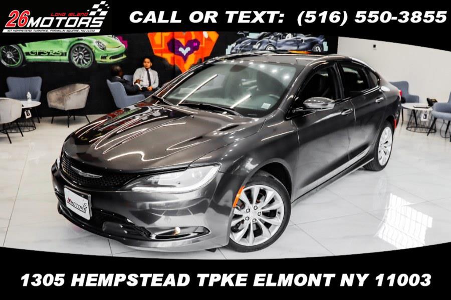 Used Chrysler 200 4dr Sdn S AWD 2015 | 26 Motors Corp. Bronx, New York