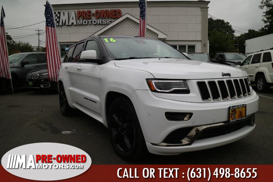 Used Jeep Grand Cherokee over lander 4WD 4dr Overland 2016 | M & A Motors. Huntington, New York