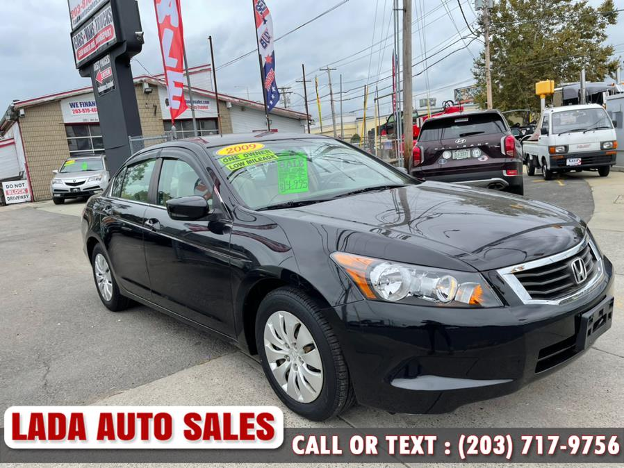 Used Honda Accord Sdn 4dr I4 Auto LX 2009   Lada Auto Sales. Bridgeport, Connecticut