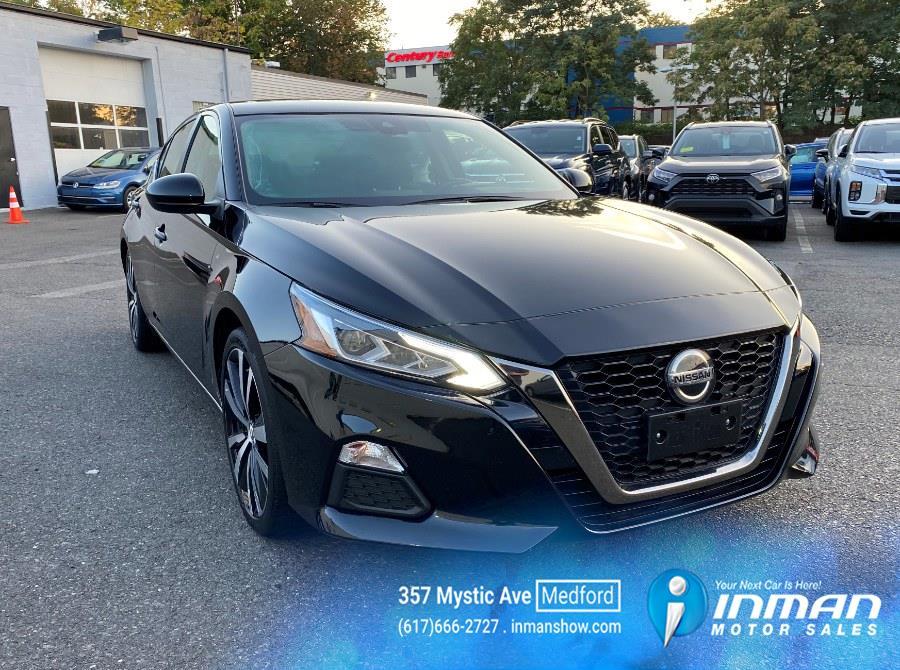 Used Nissan Altima 2.5 SR Sedan 2020 | Inman Motors Sales. Medford, Massachusetts