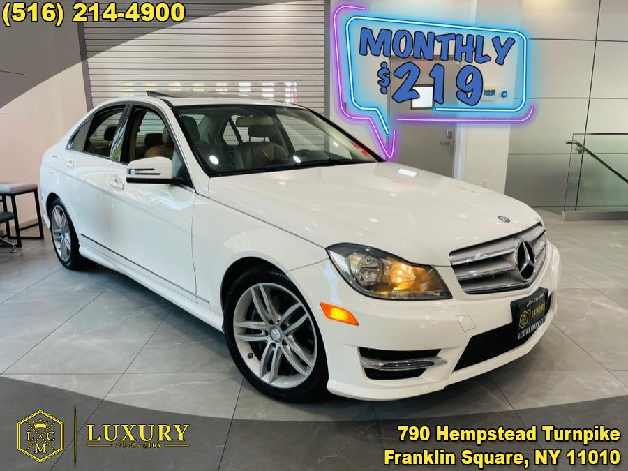 Used Mercedes-Benz C-Class 4dr Sdn C300 Sport 4MATIC 2013 | Luxury Motor Club. Franklin Square, New York