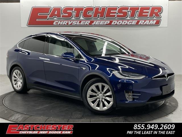 Used Tesla Model x 75D 2018 | Eastchester Motor Cars. Bronx, New York
