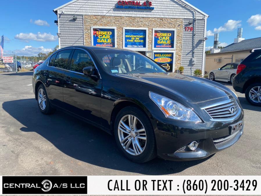 Used Infiniti G37 Sedan 4dr x AWD 2010 | Central A/S LLC. East Windsor, Connecticut