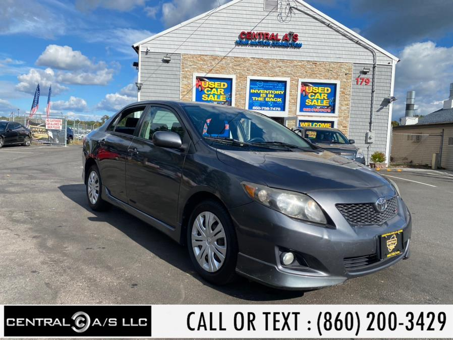 Used Toyota Corolla 4dr Sdn Auto (Natl) 2009 | Central A/S LLC. East Windsor, Connecticut