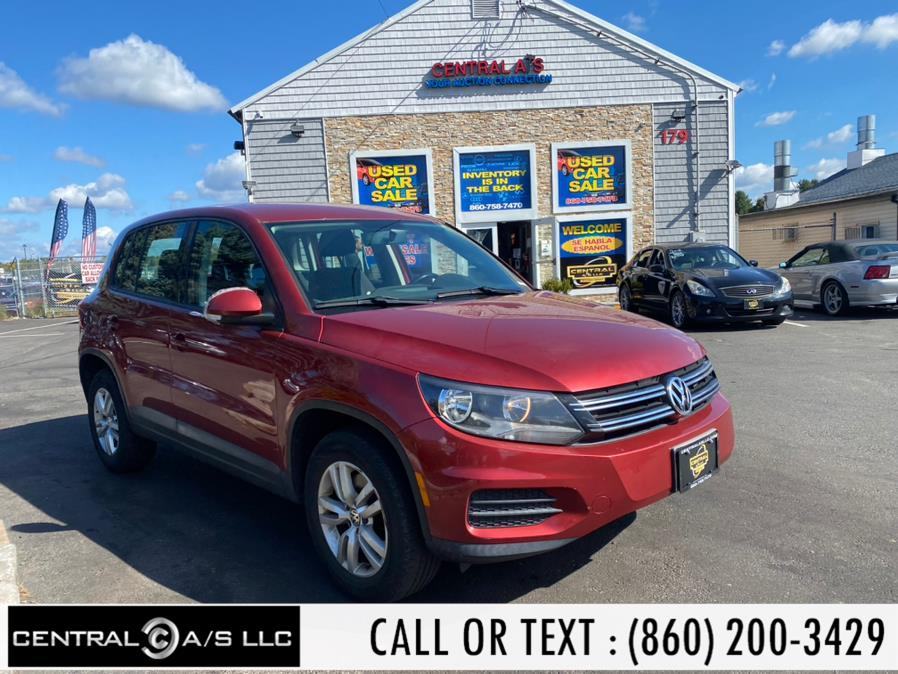 Used Volkswagen Tiguan 4WD 4dr Auto S 2013   Central A/S LLC. East Windsor, Connecticut