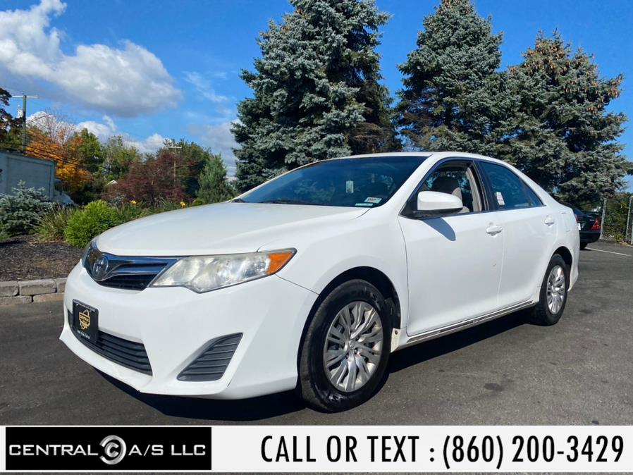Used Toyota Camry 4dr Sdn I4 Auto LE (Natl) 2013 | Central A/S LLC. East Windsor, Connecticut