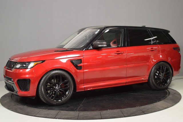 Used Land Rover Range Rover Sport V8 Supercharged SVR 2017 | NJ Truck Spot. South Amboy, New Jersey