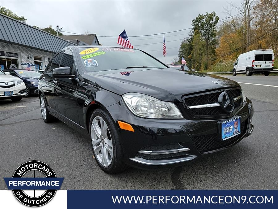 Used Mercedes-Benz C-Class 4dr Sdn C300 Luxury 4MATIC 2013 | Performance Motorcars Inc. Wappingers Falls, New York
