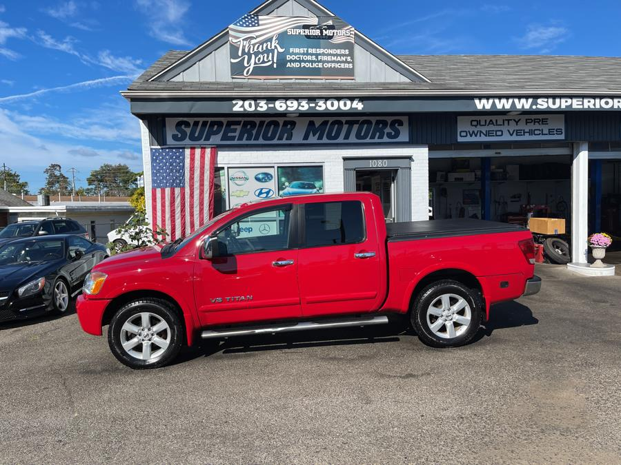 Used 2011 Nissan TITAN SL CREW CAB in Milford, Connecticut   Superior Motors LLC. Milford, Connecticut