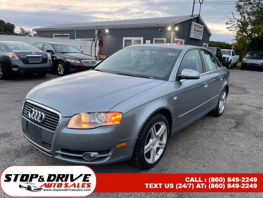 Used 2007 Audi A4 in East Windsor, Connecticut | Stop & Drive Auto Sales. East Windsor, Connecticut