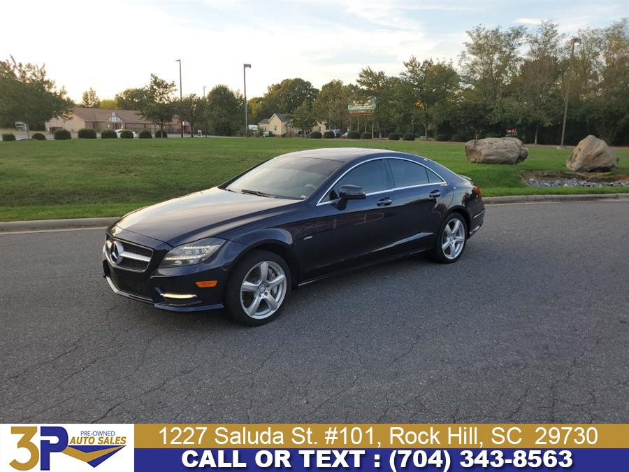 Used Mercedes-Benz CLS-Class 4dr Sdn CLS550 RWD 2012 | 3 Points Auto Sales. Rock Hill, South Carolina