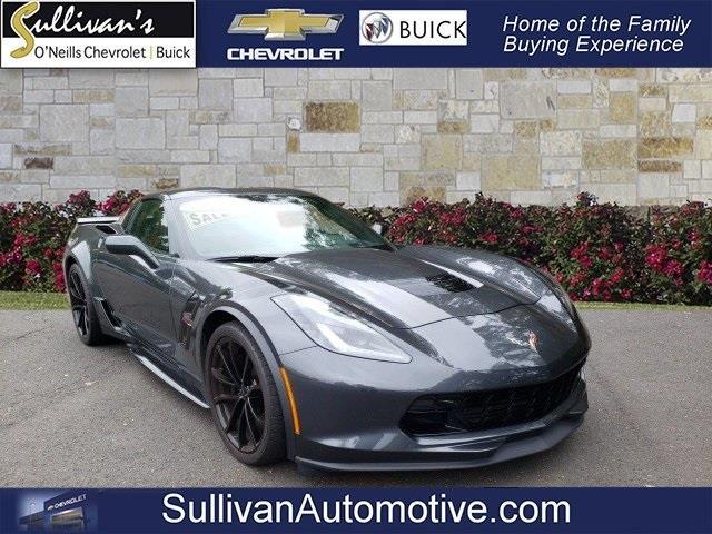 Used Chevrolet Corvette Grand Sport 2018   Sullivan Automotive Group. Avon, Connecticut